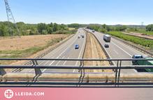 Dilluns comencen les millores de l'A-2, concretament la carretera de Balaguer