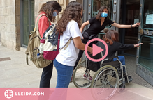 ⏯️ Joves de Tàrrega analitzen l'accessibilitat d'equipaments públics