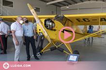 ⏯️ El Reial Aeri Club de Lleida restaura l'avió amb permís de vol més antic de l'Estat