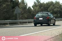 Denunciat penalment un conductor que circulava a 181 km/h a l'Urgell