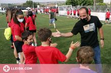 Lluís Cortés fa bandera del futbol femení a Alpicat