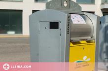 Tres pobles del Pla d'Urgell estrenen el nou sistema d'obertura dels contenidors de reciclatge