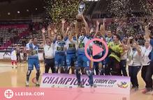 ⏯️ El Lleida Llista torna a fer història i guanya la tercera WS Europe Cup consecutiva
