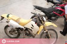 Detingut un jove per robar dues motocicletes i un ciclomotor al Pla d'Urgell