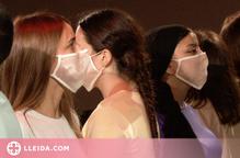 Estudiants de la UdL posen en escena la pandèmia de la covid-19