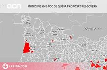 ℹ️ Mapa dels municipis afectats pel nou toc de queda a Catalunya