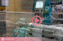 ⏯️ Els hospitalitzats per covid a Lleida són la meitat que l'estiu passat