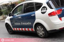 Detinguts per tres robatoris violents a Ponent amb un ferit per arma blanca