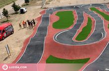Golmés estrena un dels 'pump track' més grans de Catalunya