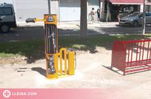 Rosselló instal·la una estació de manteniment i reparació de bicicletes