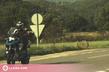 Denunciat penalment un motorista andorrà per circular a 199 km/h a l'Alt Urgell