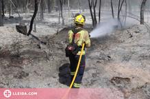 Controlat l'incendi de Vilaplana, a la Baronia de Rialb