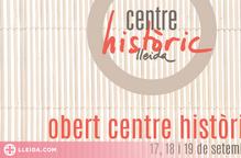 Lleida celebra la dotzena edició de l'Obert del Centre Històric