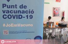 Es concentra la vacunació als Caps i a l'Onze de Setembre en tota la regió de Lleida