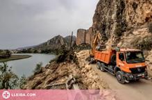 La carretera de Sant Llorenç de Montgai es reobrirà aquest cap de setmana
