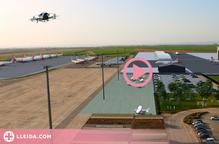 ⏯️ Les obres del segon hangar més gran de Catalunya a l'aeroport de Lleida-Alguaire començaran l'any que ve