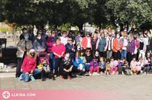 Caminada solidària contra el càncer de mama a la Pobla de Segur