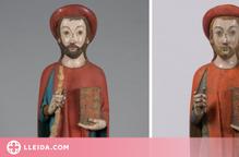 L'Aran restaura la imatge de Sant Jaume d'Arties