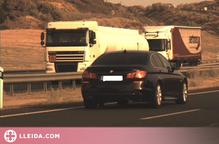 Denunciat penalment un conductor per circular a 220 km/h a Lleida