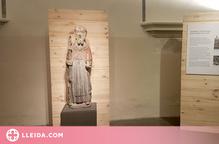 El Museu de Lleida estrena una obra gòtica de Sant Antoni Abat