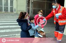 ⏯️ Puja el nombre de noves persones ateses per la Creu Roja a Lleida per l'impacte de la covid-19