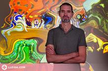 Taller del creador visual Daniel Canogar a alumnat de la UdL