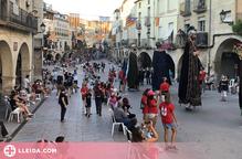 Colles geganteres, grallers i diables tornen per Festa Major a les Borges