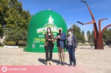 Lleida instal·la el contenidor de reciclatge més gran del món