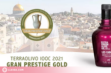 Israel premia per segon any consecutiu l'oli d'oliva verge extra Les Cabanes