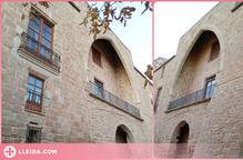 """El castell de les Pallargues llueix façana """"nova"""""""