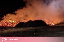 Incendi sense ferits en una empresa de Bell-lloc d'Urgell