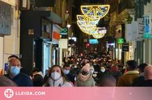 Els carrers comercials catalans registren un 30% menys de tràfic per la campanya de Reis