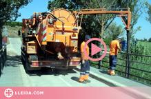 ⏯️ Continuen a Utxesa els treballs per retirar l'hidrocarbur vessat mentre s'investiga l'origen de l'abocament