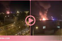 ⏯️ Cremen diversos contenidors a l'empresa d'escombraries de Lleida