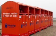 Càritas demana que no es dipositi roba usada als contenidors durant l'estat d'alarma