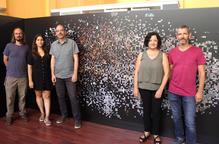 L'artista Pilar Rosado exposa un fotomosaic amb 16.000 imatges històriques de FiraTàrrega