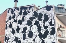 El mural 'Love is Love' de Cristina Dejuan guanya el premi del públic del Torrefarrera Street Art Festival