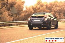 Enxampen un conductor que circulava a 184 Km/h per la C-14 a l'Urgell