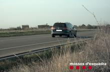 Denunciat per circular a 190 km/h per la C-14 a Ciutadilla