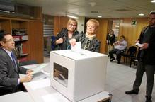 Un total de 1.907 persones han votat després del 9N a les delegacions del Govern a Lleida