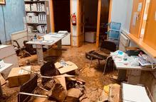 #VÍDEO: Així ha quedat l'Ajuntament i l'Escola Bressol de Vinaixa després de les fortes tempestes
