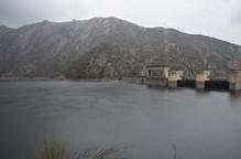 El pantà d'Oliana es trobava aquest diumenge al 83& de capacitat / C.Sans