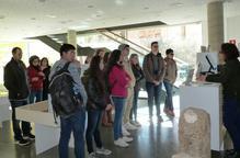 Una desena d'estudiants d'intercanvi dels Estats Units han visitat l'Espai Macià