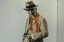 El Museu Nacional d'Art de Catalunya lliura, a l'Espai Macià de les Borges, una fotografia gegant del president Macià