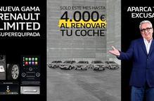 Nova gamma Renault Limited súper equipada