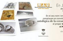 Inauguració de l'exposició antològica de la ceramista Antonieta Palau