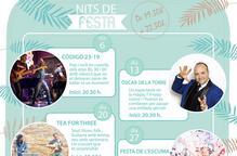 Comencen les Nits de Festa a Trèvol Lleida, cada dijous de juny.