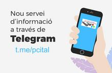 El PCiTAL estrena nou canal a Telegram