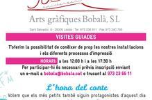 Arts Gràfiques Bobalà de Lleida celebra el seu 30è aniversari