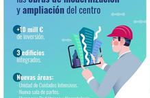 Segueixen les obres d'ampliació de HLA Perpetuo Socorro de Lleida